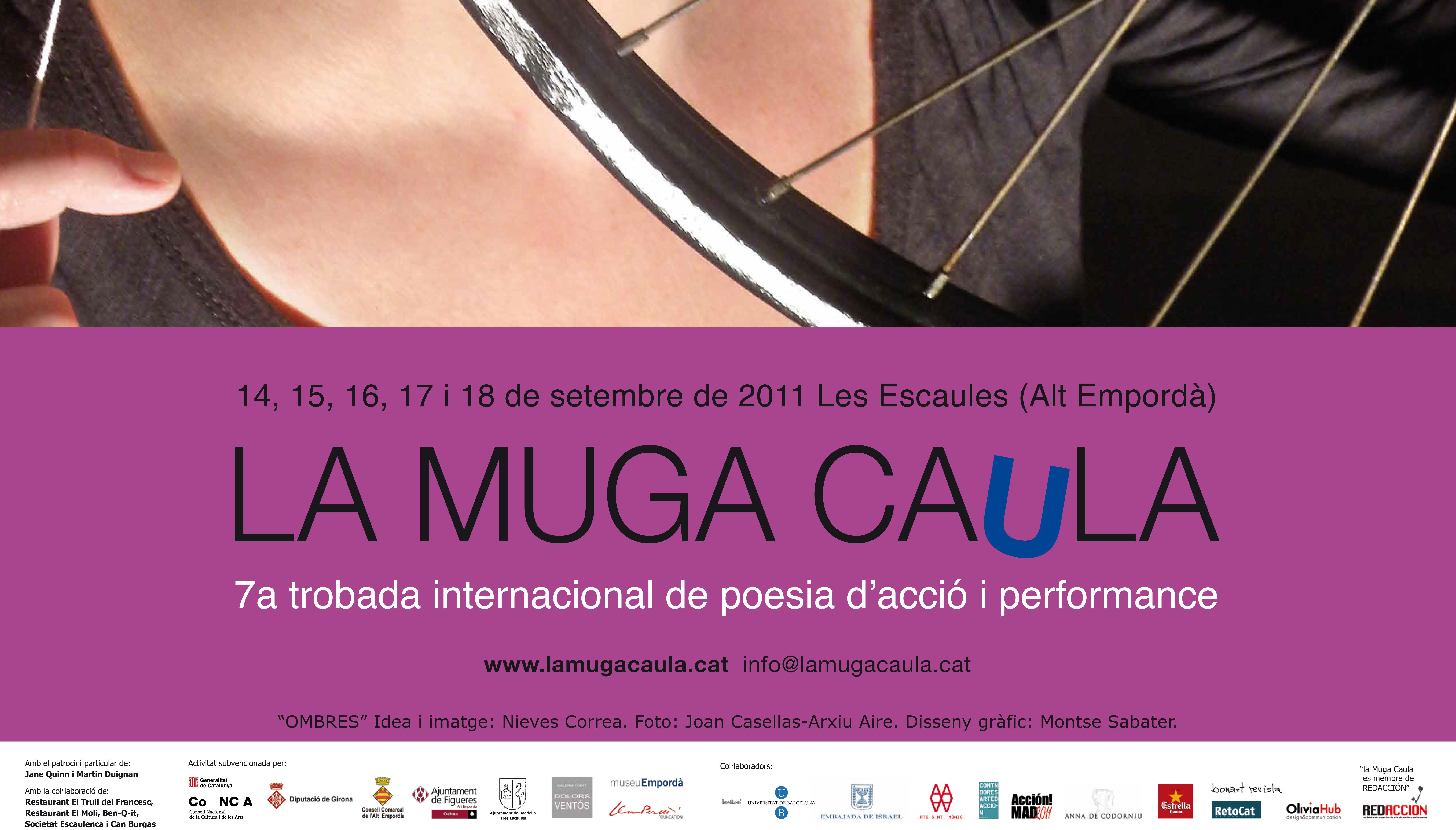 LA MUGA CAULA, Escaules, Gerona, 14-18.9.11