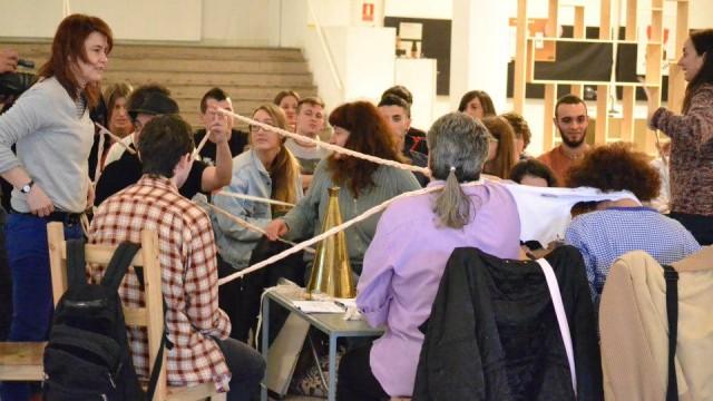 HACEDORAS, La Trasera, Bellas Artes UCM, Madrid, 15.03.13