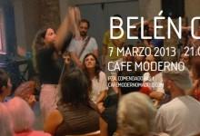 CAFÉ MODERNO, Madrid, 07.03.13