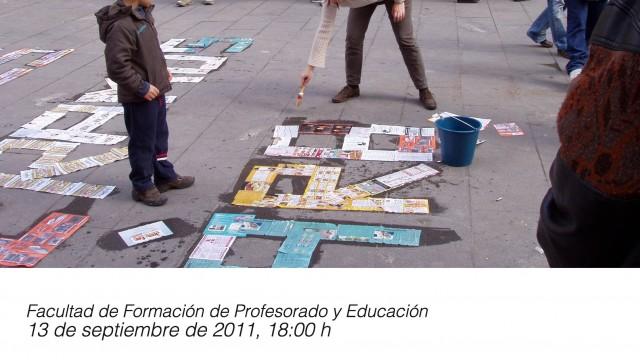 UAM, Facultad Educación. 13.10.11