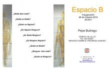 Espacio B, Madrid, 24.11.12