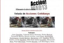 ACCIONES COTIDIANAS Madrid 29.11.13