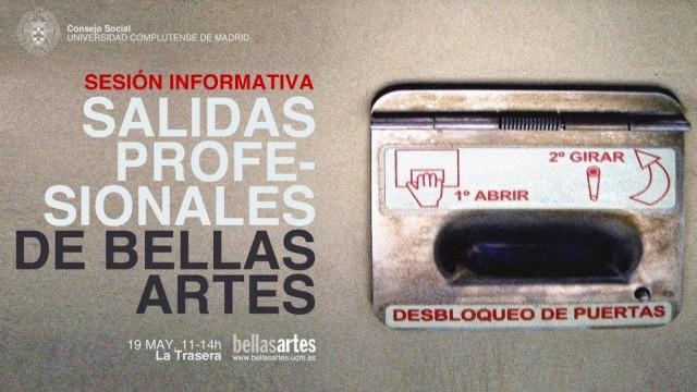 SALIDAS PROFESIONALES, Bellas Artes UCM, 19.05.15